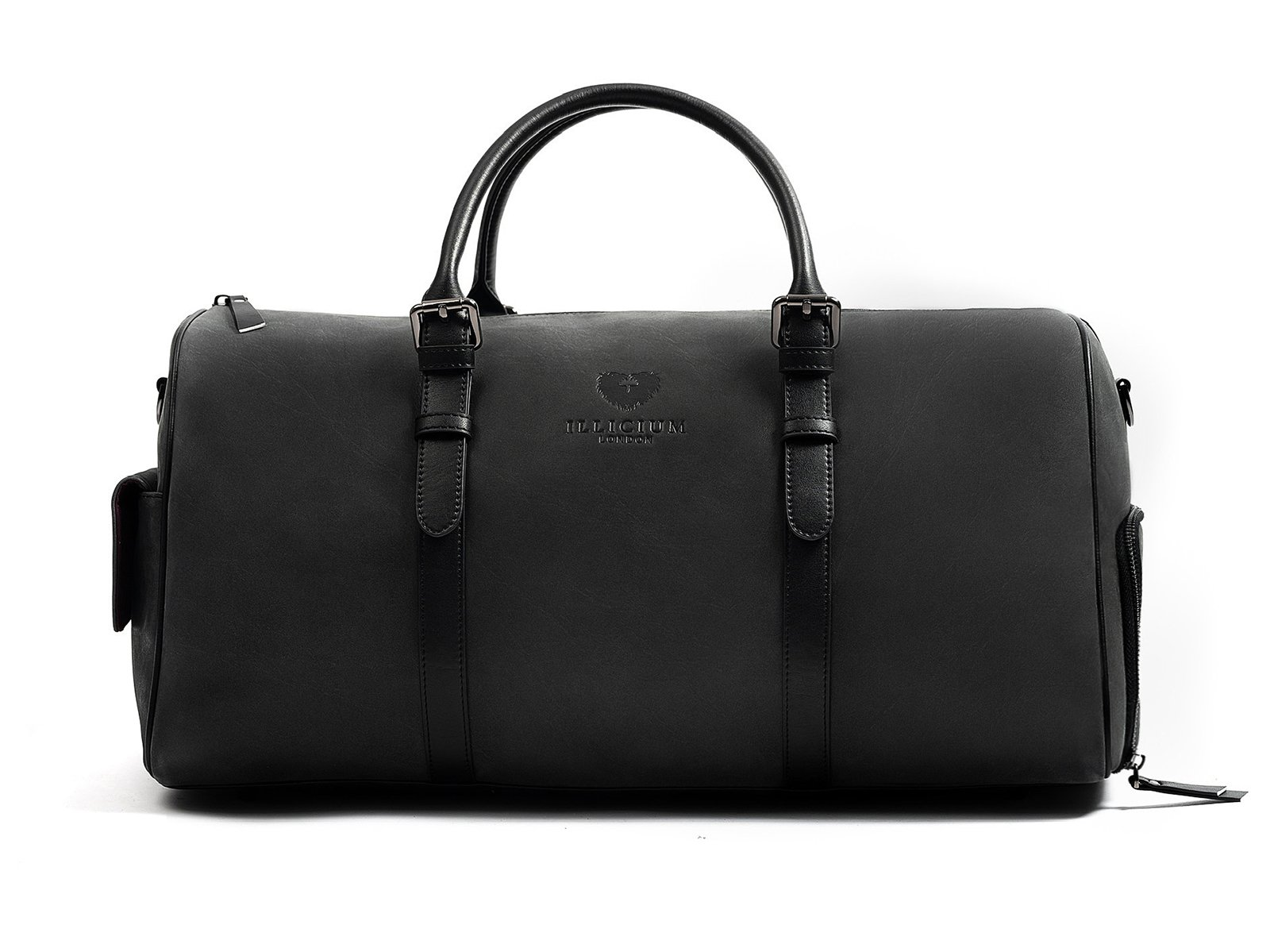 kingshood leather duffle bag