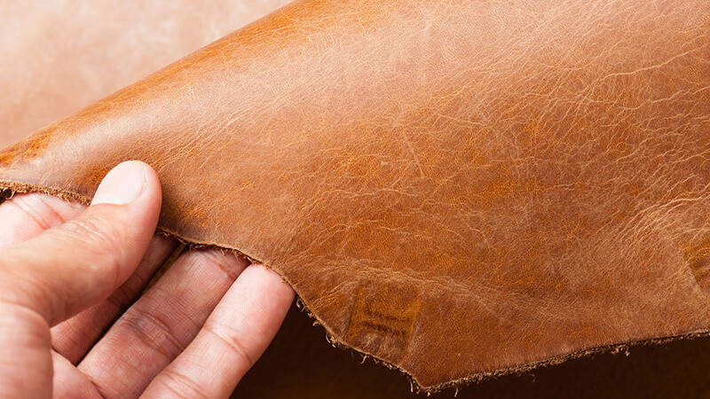 leather imperfection